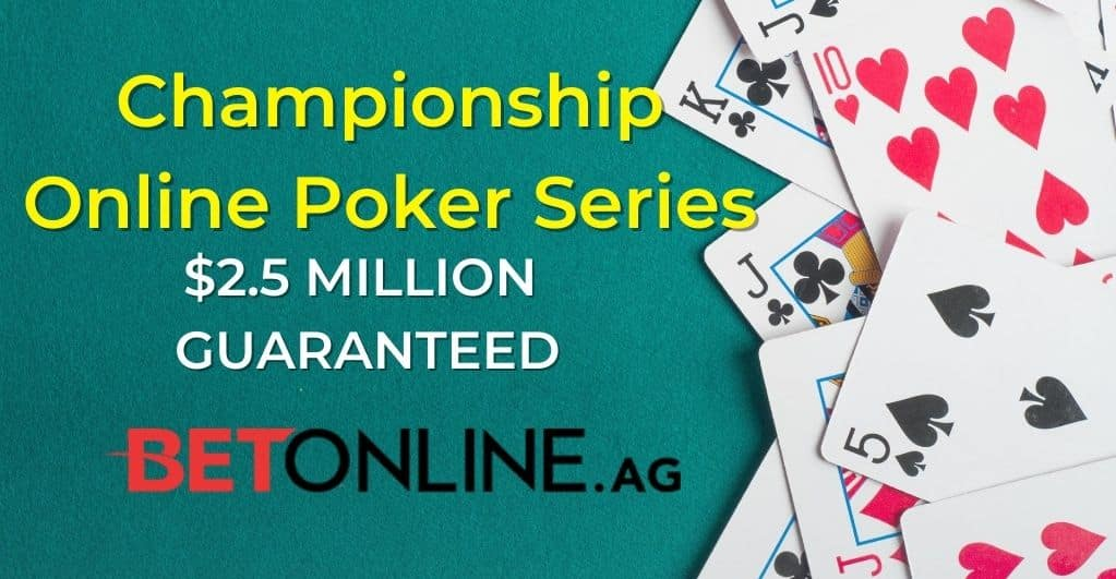 Photo of USD 2.5 million Online Poker Tournament announced by BetOnline