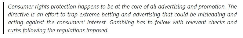 As stated by the Belgian Gaming Commission