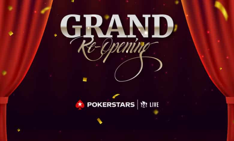 PokerStars at Hippodrome is set for a Grand Reopening