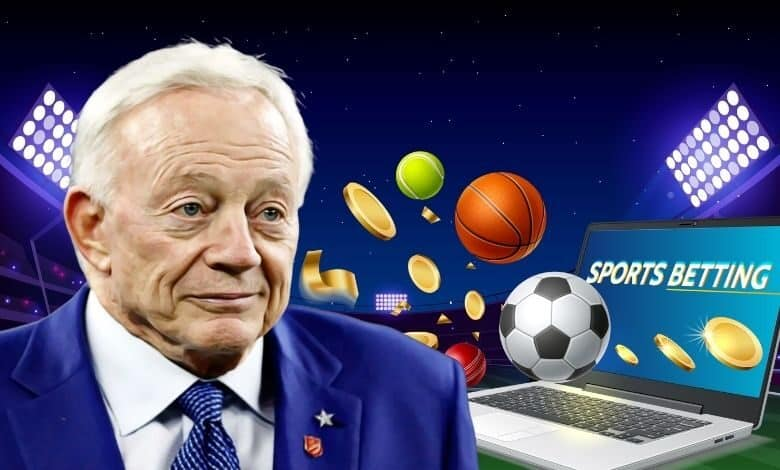 Jerry Jones of Dallas Cowboys Welcomes Texas Sports Betting